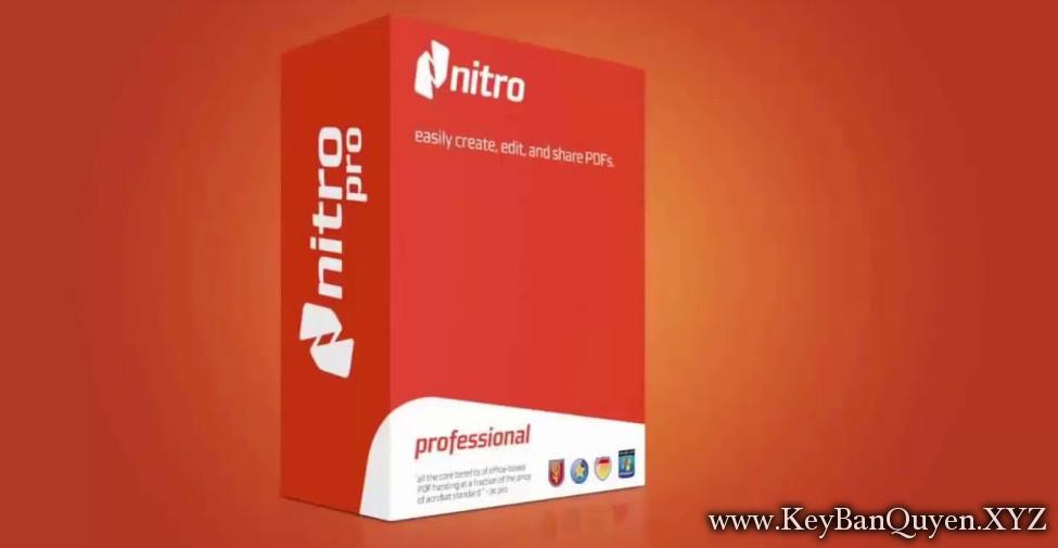 Nitro Pro 12.7.0.338 Full Key Download, Phần mềm chỉnh sửa và biên tập file PDF chuyên nghiệp .
