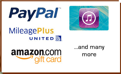 What reward Opinion World pays you via Payment Methods