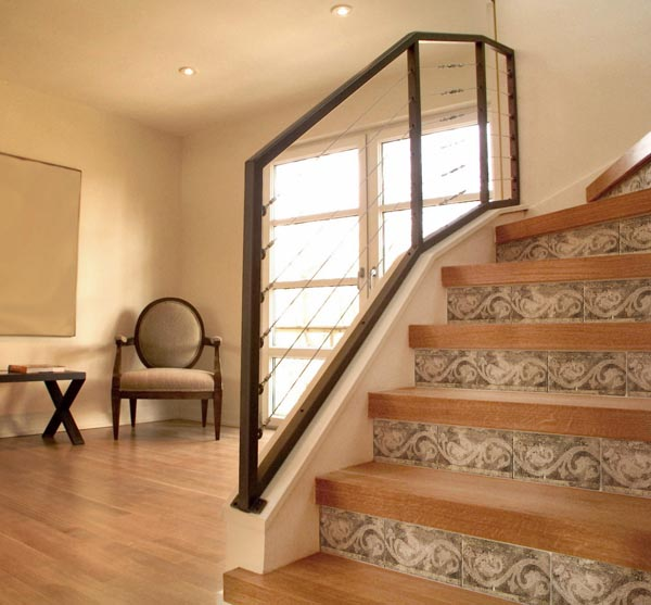 58 Cool Ideas For Decorating Stair Risers: Sure Fit Slipcovers: Unique Ways To Decorate The Stairs