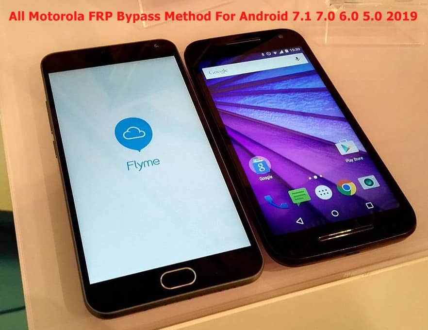 All Motorola FRP Bypass Method For Android 7 1 7 0 6 0 5 0