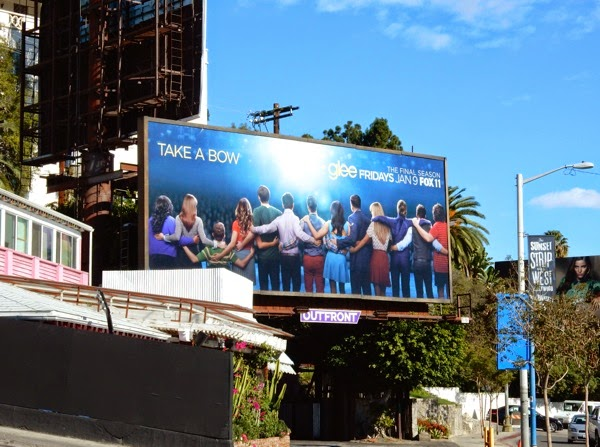 Glee final season 6 billboard