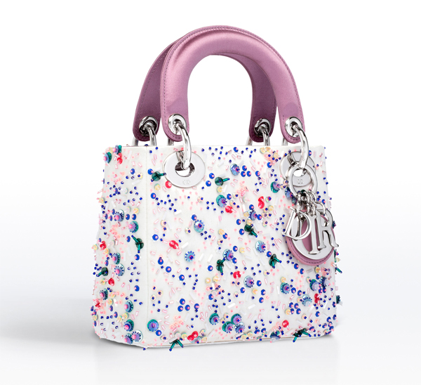 dior bags, embroidered bags, embroidery on leather