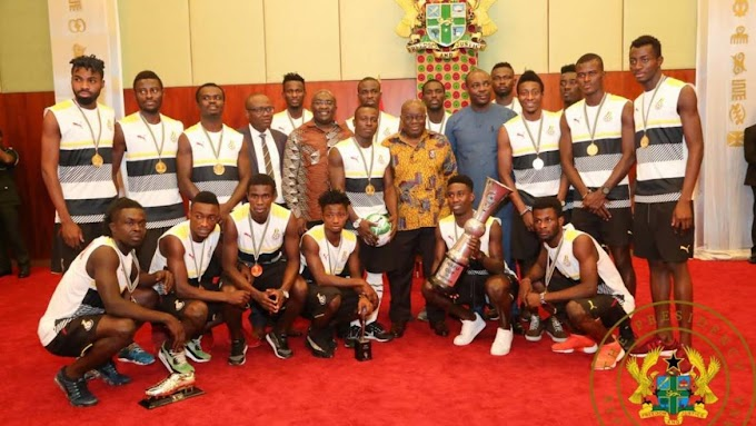 """You Have Brought Joy To Ghana"" – President Akufo-Addo To Black Stars B Team"