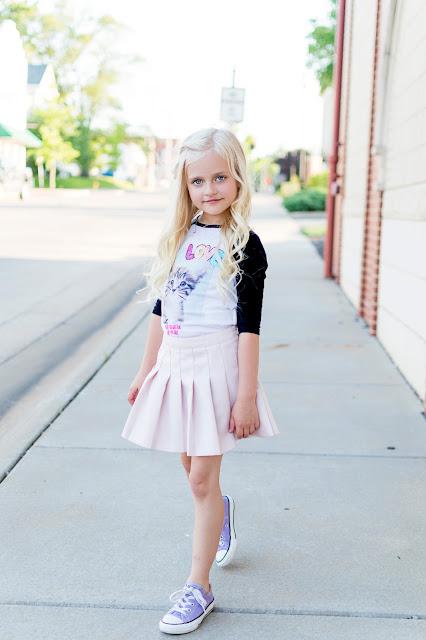 little girl summer fasion outfit ideas daphnie forever21 jojosiwa jojo siwa