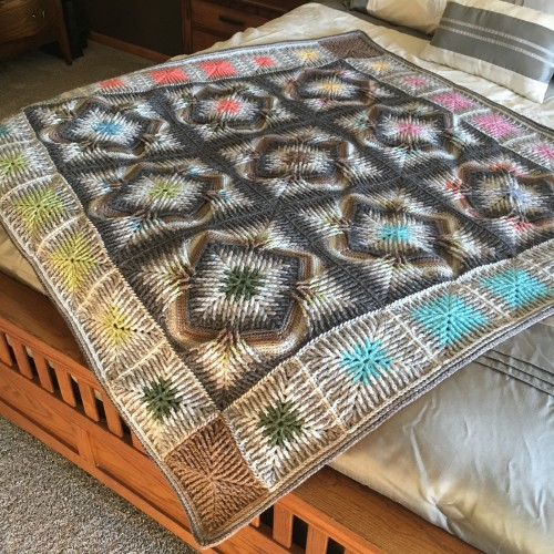 Elements of Elements Blanket - Free Pattern
