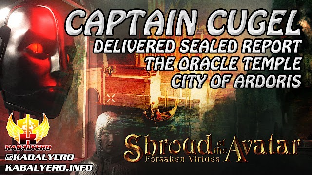 City Of Ardoris ★ Sealed Report, Captain Cugel, The Oracle & More ★ Shroud of the Avatar Gameplay