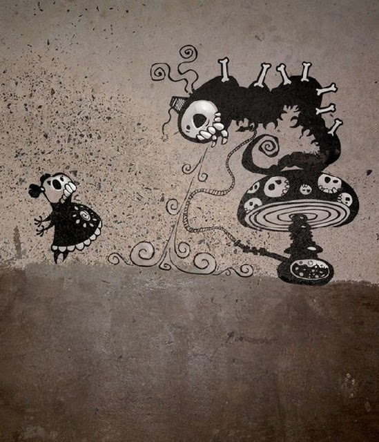 1001Archives: The Skkelewags - Amazing Urban Art
