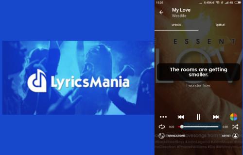 5. Lyrics Mania