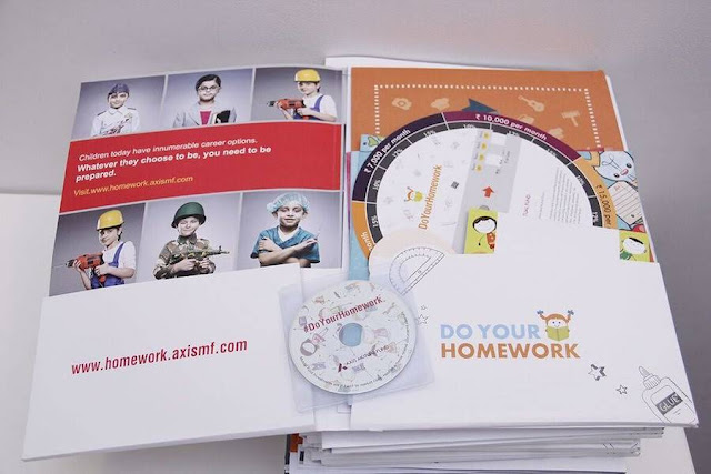 #DoYourHomework For Your Child's Future With Axis Bank