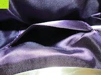 Seitenfach: Sumolux Schöne Handtasche Tasche Partytasche Abendtasche Tasche für Frauen Tasche für Damen Lila