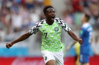 نادي النصر السعودي يتعاقد رسميا مع النيجيري أحمد موسى مهاجم ليستر سيتي الانجليزي لأربع سنوات.