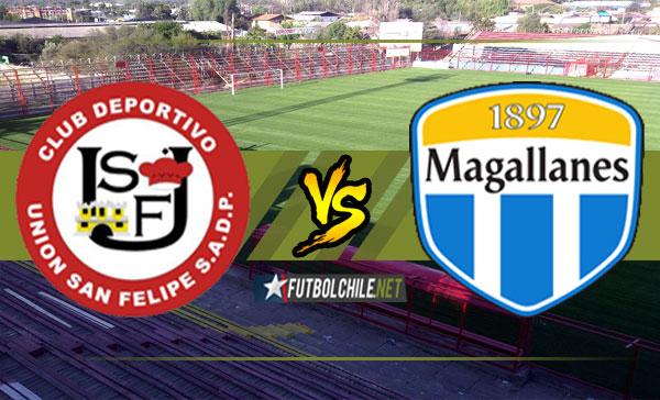 Unión San Felipe y Deportes Magallanes igualaron por la cuenta mínima