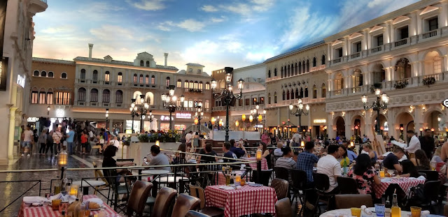 digital sky Venetian and Palazzo hotels Las Vegas