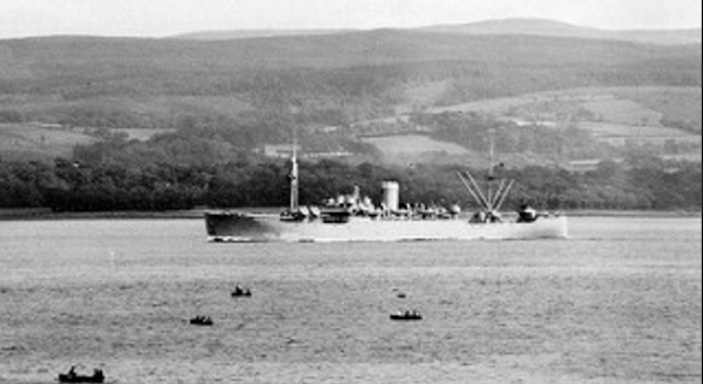 3 November 1940 worldwartwo.filminspector.com Eros ship Clyde