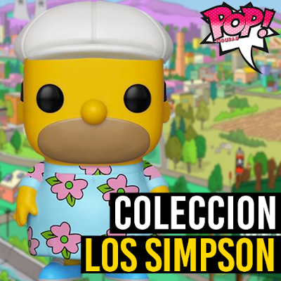 Lista de figuras funko pop de Funko POP Los Simpson