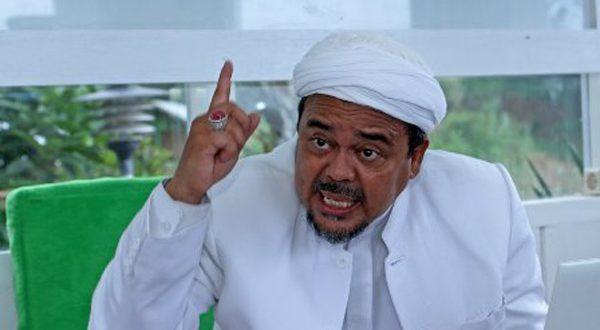 Habib Rizieq Sudah Harga Mati Tak akan Dukung Jokowi