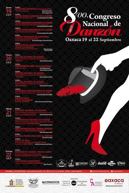 8vo Congreso Nacional De Danz 243 N Oaxaca Calendario De