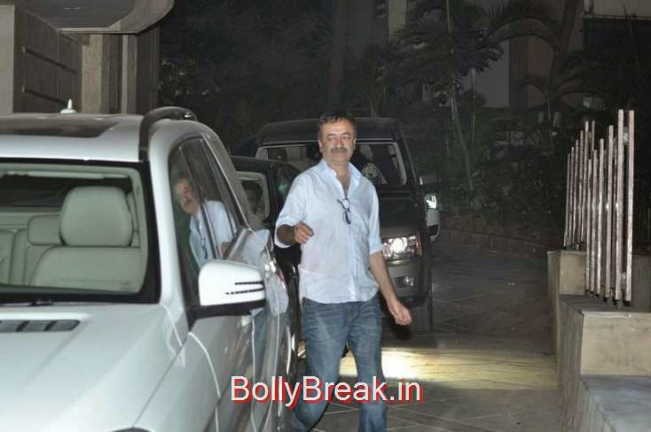 Rajkumar Hirani, Kiran Rao, Mini Mathur Sidharth Malhotra and Gari Khan at Ranbir Kapoor's Party