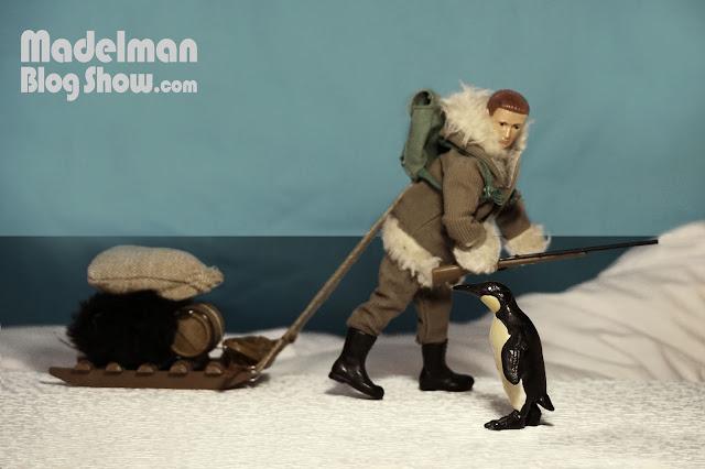 Cocina Madelman para exploradores polares