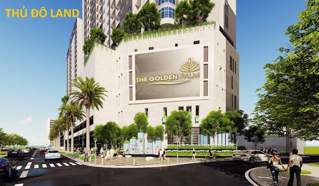 Chung cư the golden palm, dự án The Golden Palm