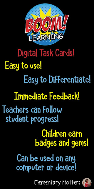Have You Heard About Boom Digital Task Cards? If you haven't, here's a great chance to try them out!
