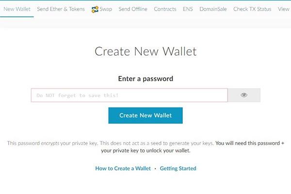Wallet MEW untuk Pemula