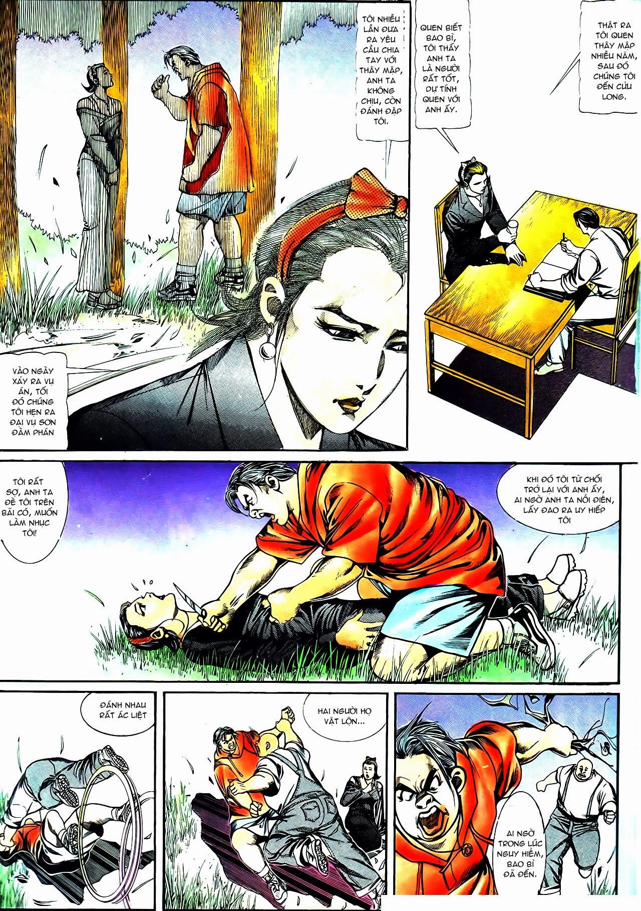 Người Trong Giang Hồ chapter 119: tù chung thân trang 21