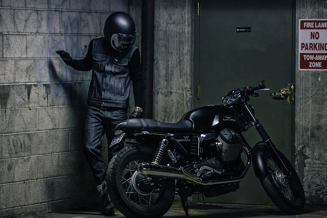 the worlds strongest denimsaint ~ return of the cafe racers