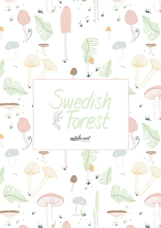Launch of Swedish Forest pattern collection