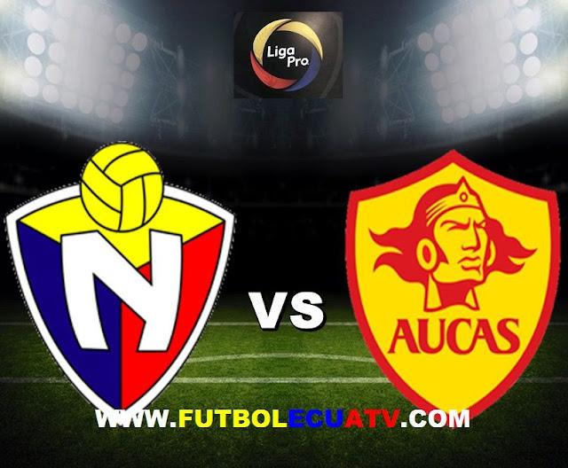 El Nacional recibe al Aucas en vivo a partir de las 18h30 horario designado por la FEF a jugarse en el campo Olímpico Atahualpa prosiguiendo la fecha nueve de la Liga Pro Ecuador, siendo el árbitro principal Luis Quiroz con transmisión del canal autorizado GolTV.