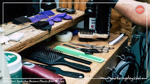 Buka Bisnis Barbershop Bersama Fitnesia Bikin Bahagia