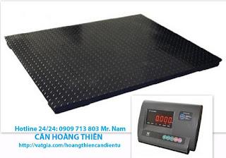 Cân sàn điện tử 3 tấn yaohua A12