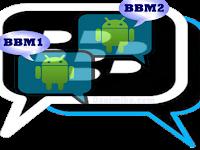 Cara Mudah Instal 2 BBM Sekaligus Dalam satu HP Android