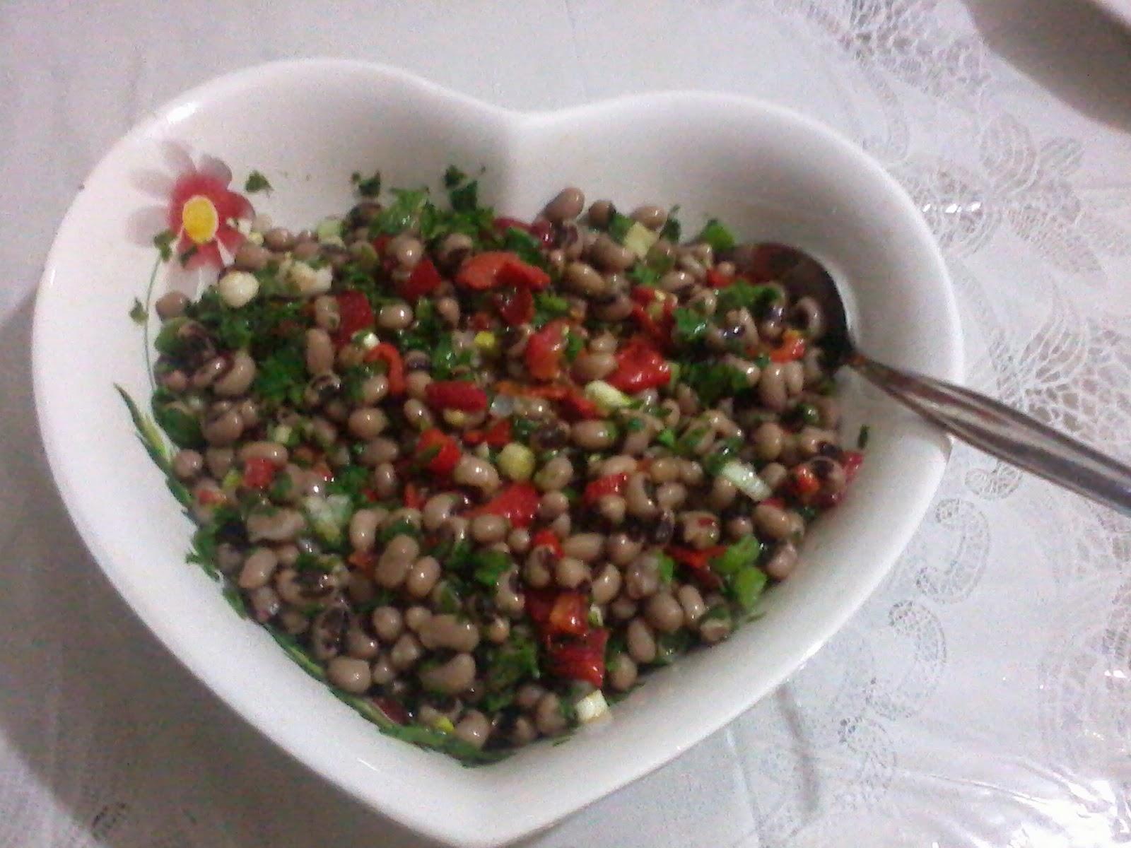Kuru Börülce Salatası Videosu