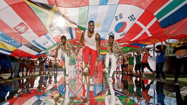 Jason Derulo Penyanyi asal Florida, Amerika Serikat yang akan menjadi penyanyi resmi theme song Piala Dunia 2018