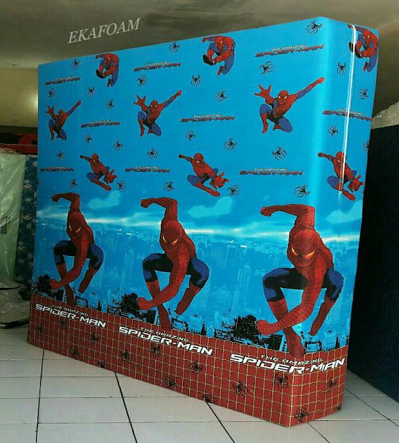 Kasur inoac motif kartun spiderman