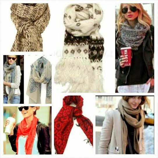 stylish winter scarves