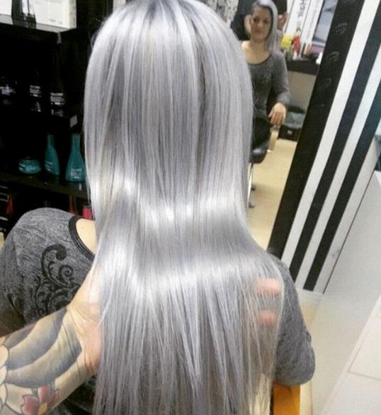 Katia Miyazaki Coiffeur Cabelo Platinado Silver Hair