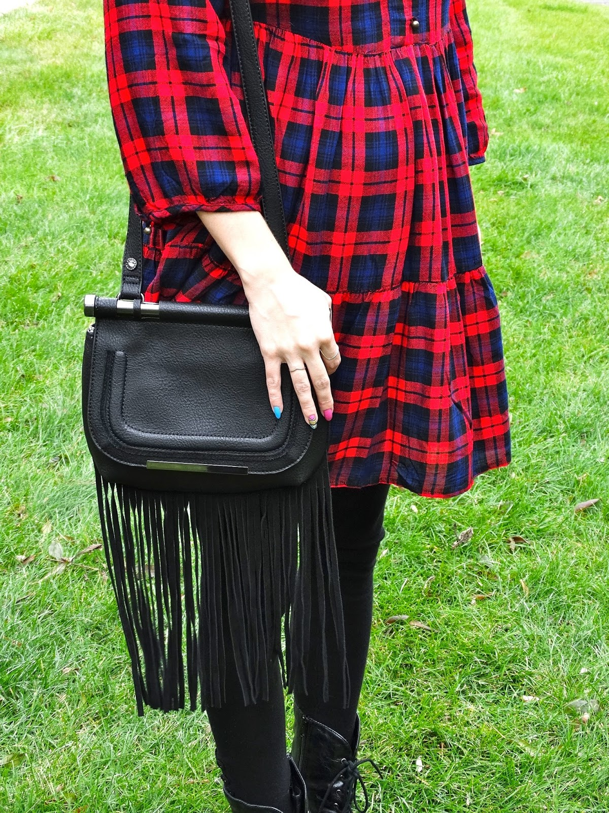Steve Madden Blottie Bag, as worn by fashion blogger Jen of House of Jeffers | www.houseofjeffers.com