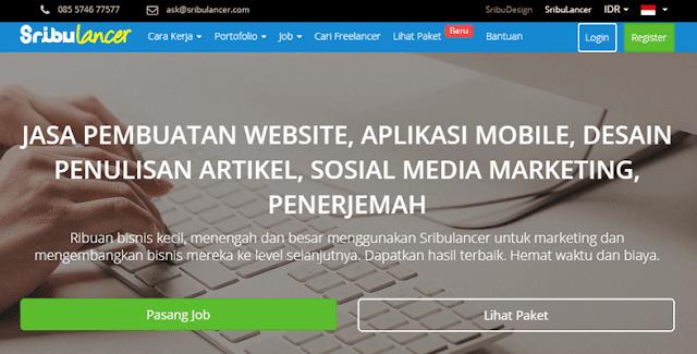 Sribulancer Lowongan Kerja Online Freelancer