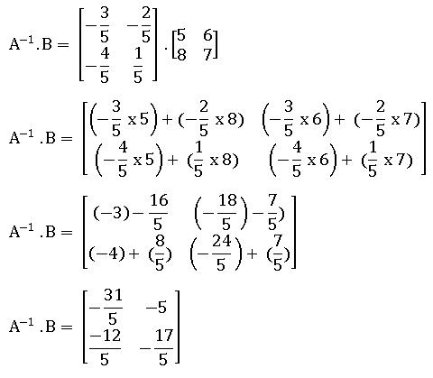 Pembahasan soal penerapan invers matriks