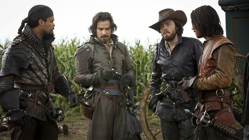 The Musketeers_reparto