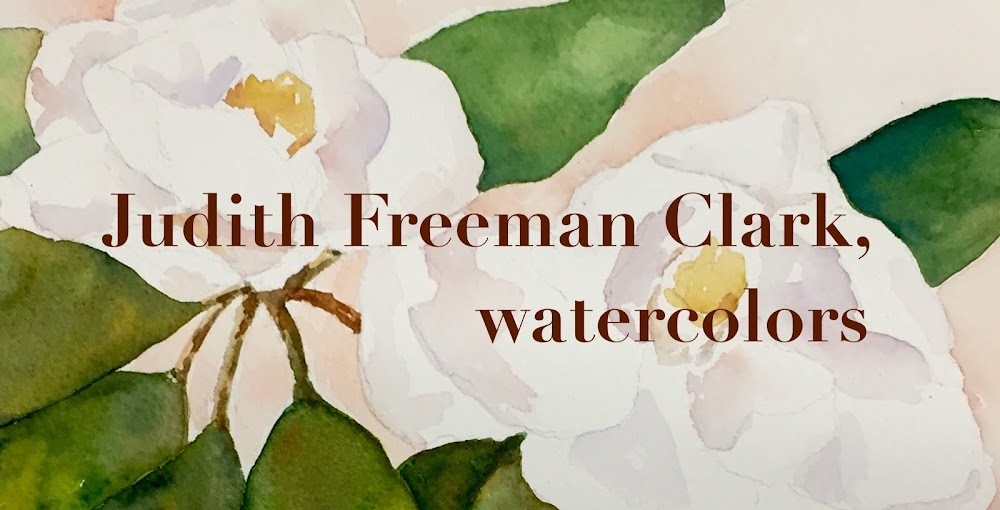 Judith Freeman Clark, watercolors