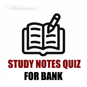 100 Most Important Study Notes Quiz For Syndicate Bank PO | 17.02.18