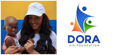 Instagram, Rosaline Meure, Eye cancer, News, Tonto Dike, Dora aid foundation,