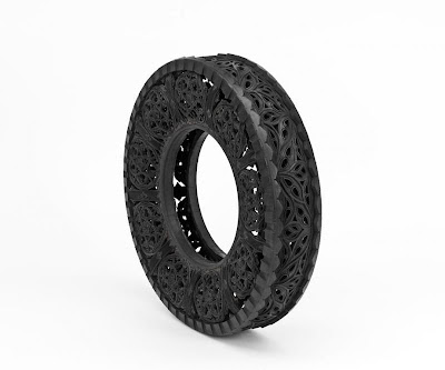 Cool and Creative Hand Carved Car Tires (15) 7
