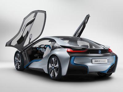 Mobil BMW i8 Desain unik Tenaga Sport Car