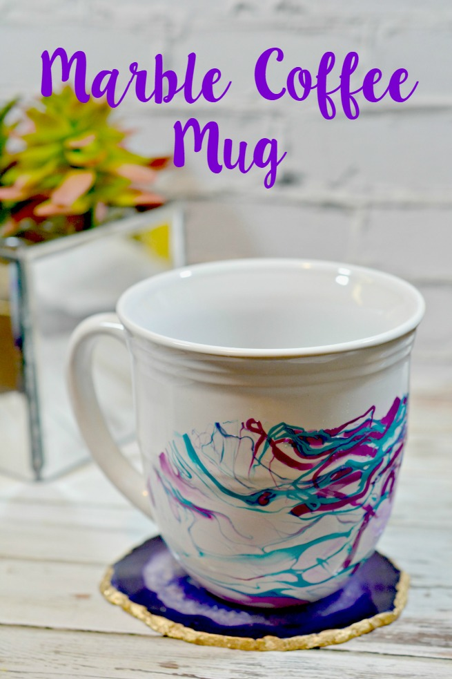 Tutorial: DIY Marble Coffee Mug