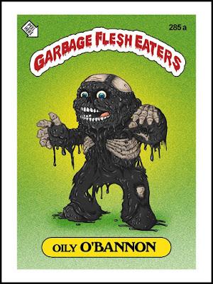 Zombies Meet Garbage Pail Kids (art by Omar Hauksson) - Obannon