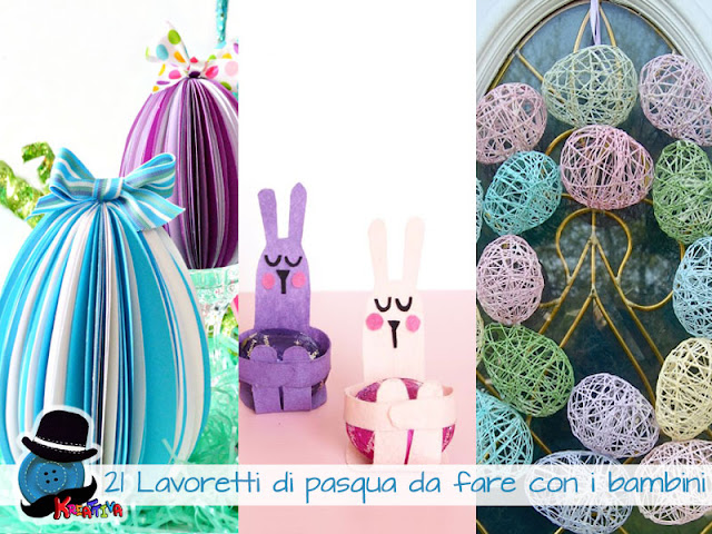 Idee pasqua per bambini lavoretti per pasqua con la pasta al bicarbonato bimbi creativi - Decorazioni uova pasquali per bambini ...